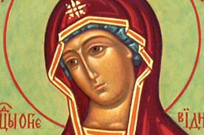 Праздник иконы Божией Матери «Огневидная»