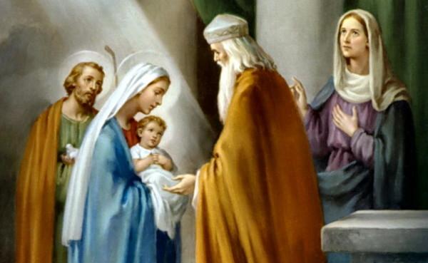 День памяти праведных Симеона Богоприимца и пророчицы Анны