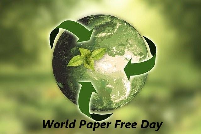 Всемирный день без бумаги (World Paper Free Day)